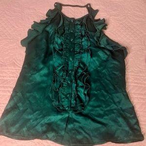 Emerald Green Nanette Lepore Blouse